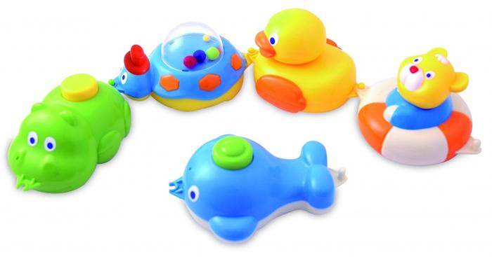 Canpol Babies Игрушки для ванны 5 фигурок игрушки для ванны brasco игрушка для ванной крабик с друзьями