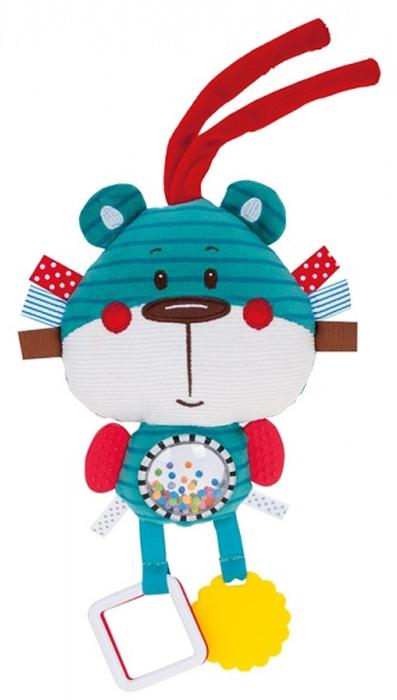 Canpol Babies Игрушка-погремушка с прорезывателем Forest Friends Медвежонок