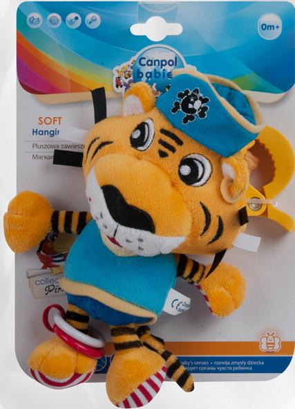 Canpol Babies Игрушка подвесная мягкая Pirates Лев игрушка