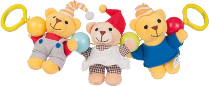 Canpol Babies Игрушка подвесная с погремушкой Мишки мобили canpol мишки и утки 2 517
