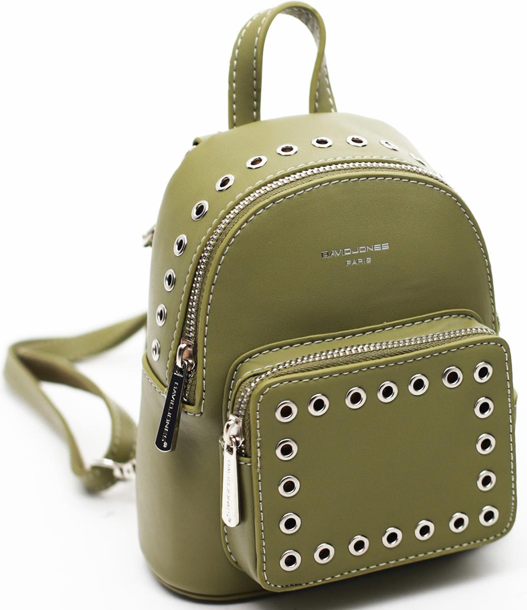 Рюкзак женский David Jones, цвет: темно-бежевый. СМ3717 сумка david jones david jones da919bwtnl50