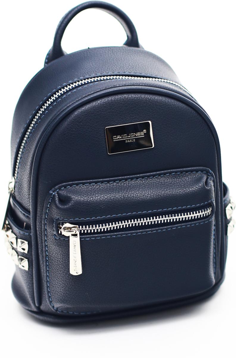 Рюкзак женский David Jones, цвет: синий. СМ3657А рюкзак женский david jones цвет красный cm3717 red