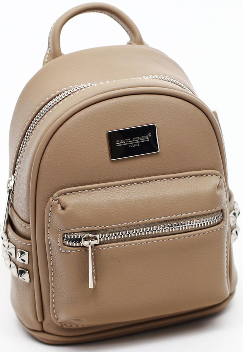 Рюкзак женский David Jones, цвет: верблюжий. СМ3657А сумка david jones david jones da919bwtnl50