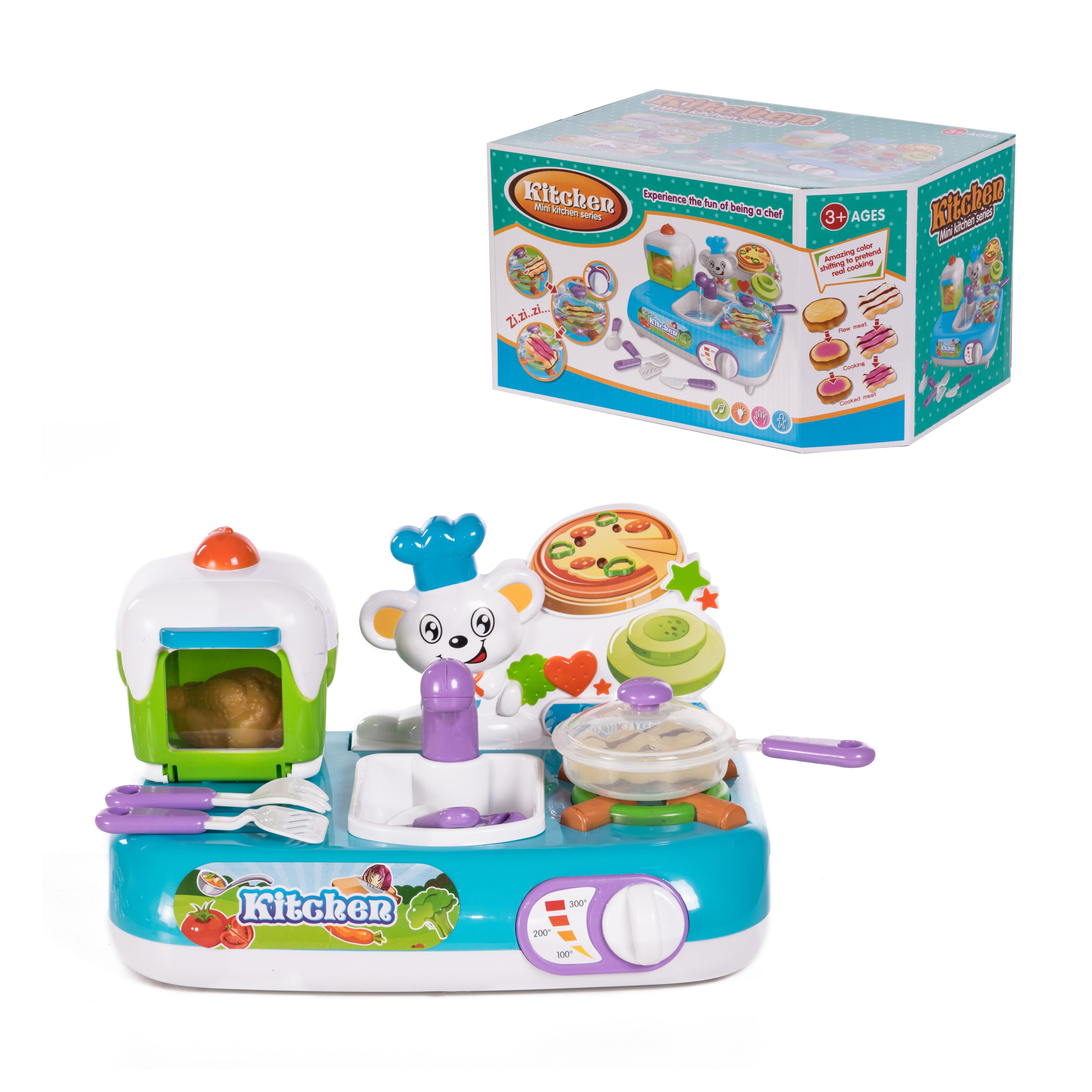 Kitchen Детский игровой набор Кухня ABC-397654 детский игровой набор sega zoobles 55