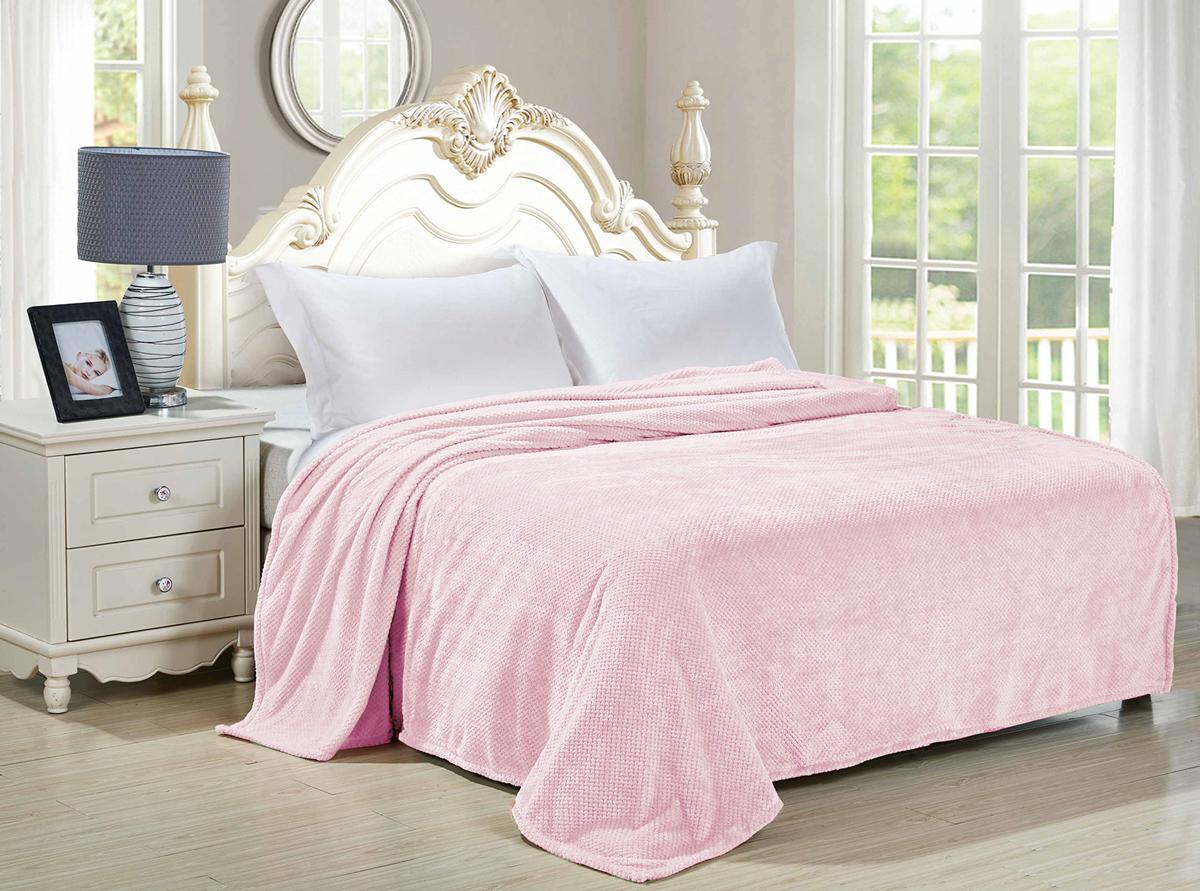 Плед-покрывало Guten Morgen Лаванда, цвет: розовый, 180 х 200 см плед покрывало guten morgen азалия цвет розовый 150 х 200 см