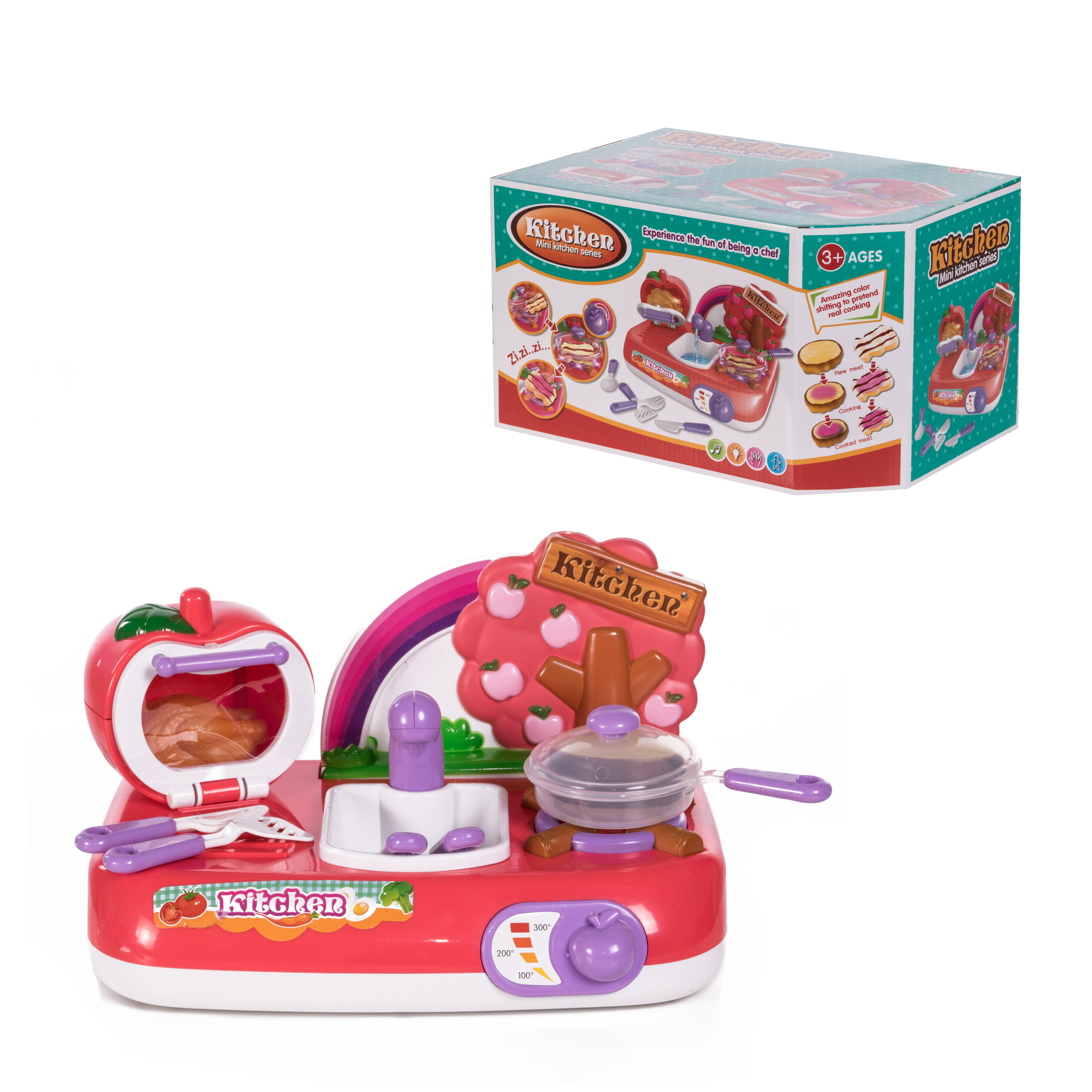 Kitchen Детский игровой набор Кухня ABC-397656 детский игровой набор sega zoobles 55
