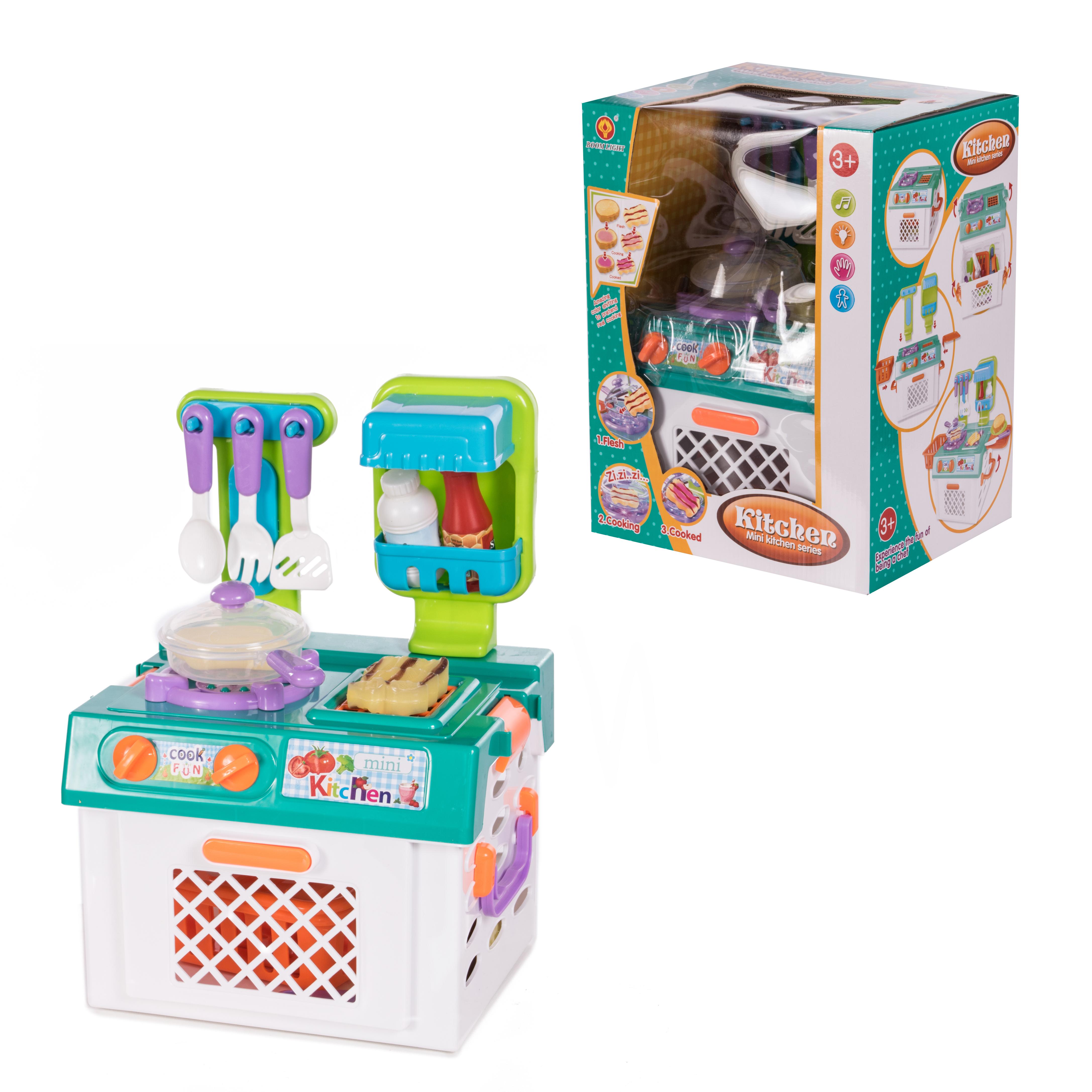 Kitchen Детский игровой набор Кухня ABC-397657 детский игровой набор sega zoobles 55