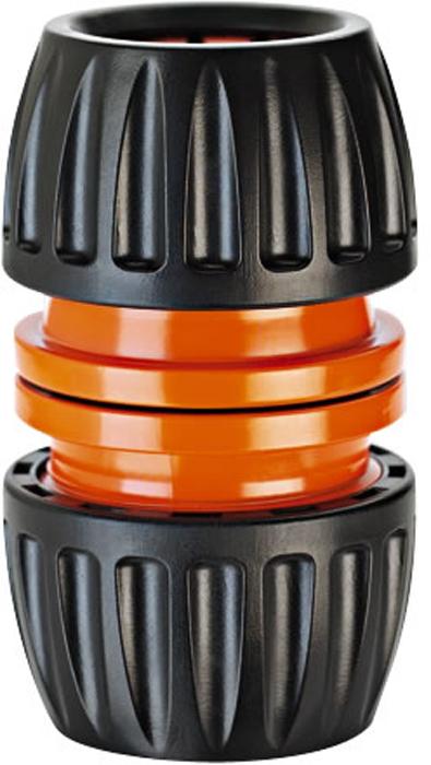 """Коннектор ремонтный универсальный """"Claber"""" для шлангов диаметра 1/2"""" - 5/8"""" - 3/4"""".Максимальное давление, Бар: 4. Входные крепления: внутренняя резьба/мама.Выходное крепление: внутренняя резьба/мама."""