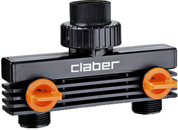 """Разветвитель двухканальный """"Claber"""", для таймеров"""
