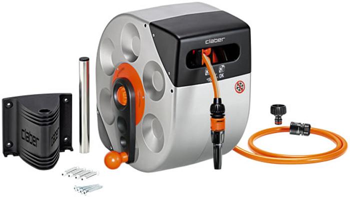 Катушка механическая Claber  Rotoroll Manual , со шлангом, 20 м -  Все для полива