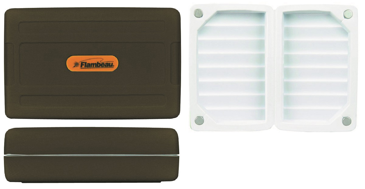 Коробка рыболовная Flambeau Foam Fly Box Small коробка для мушек airflo aquatec fly box large slotted foam