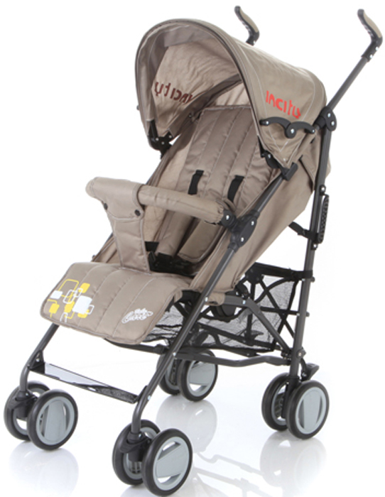 Baby Care Коляска-трость In City цвет хаки футболка incity incity in002ewwkk12