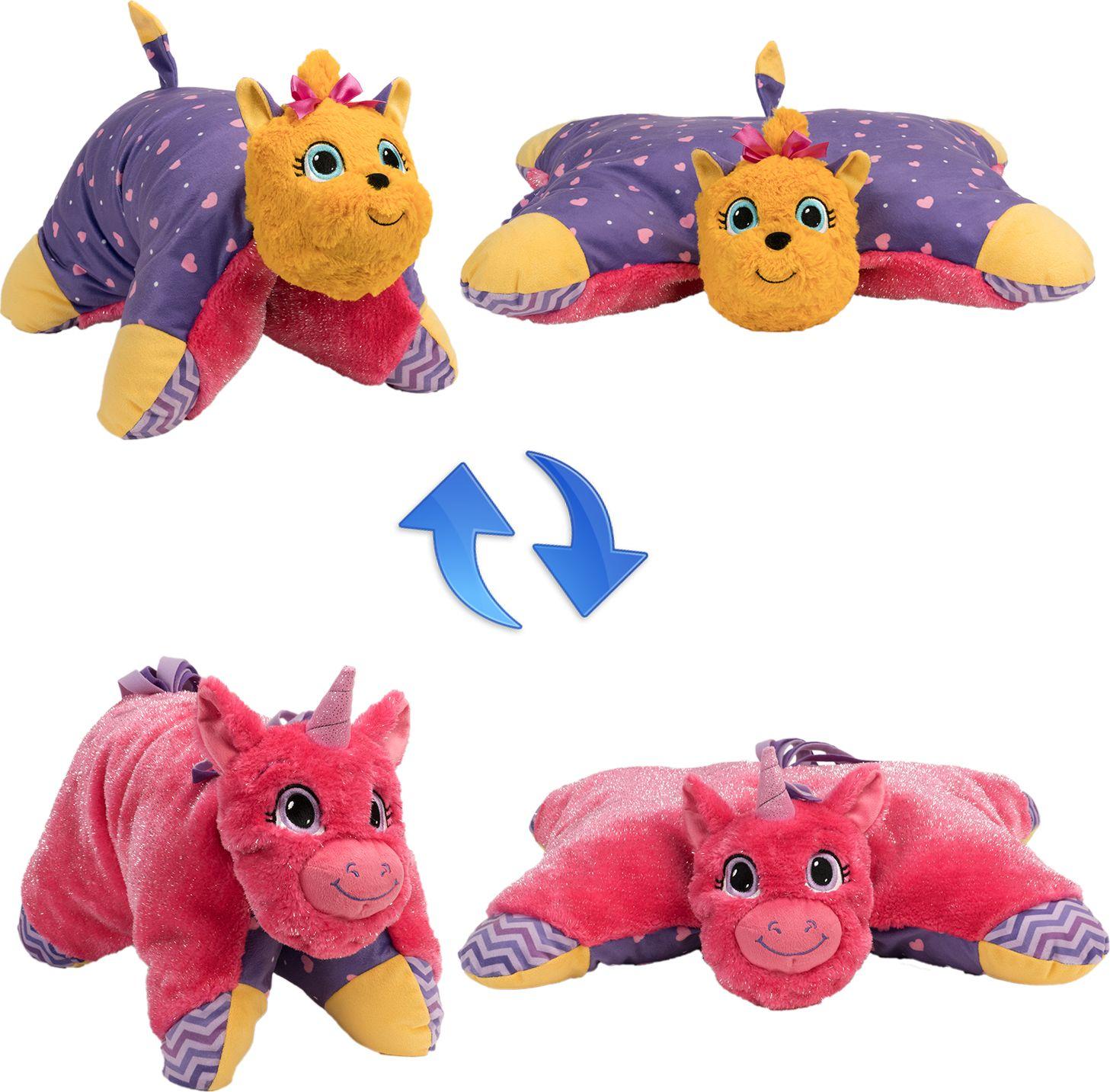 1TOY Мягкая игрушка Вывернушка 2в1 Лавандовый Единорог-Щенок Йорк 11 см мягкие игрушки maxitoys щенок с косточкой 12 см