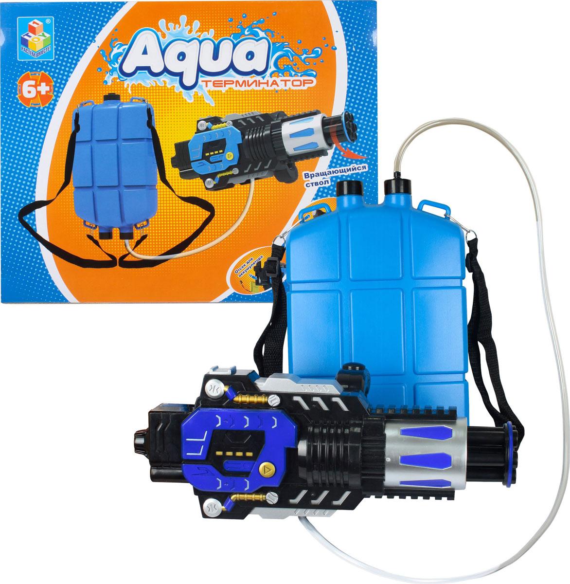 1TOY Водное оружие Аквамания водное оружие hydro force side winder с картриджем на 300 мл