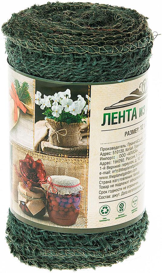 Подвязка для растений Planet Garden, цвет: зеленый, 12 х 300 см подвязка для растений d3 5ммх10м