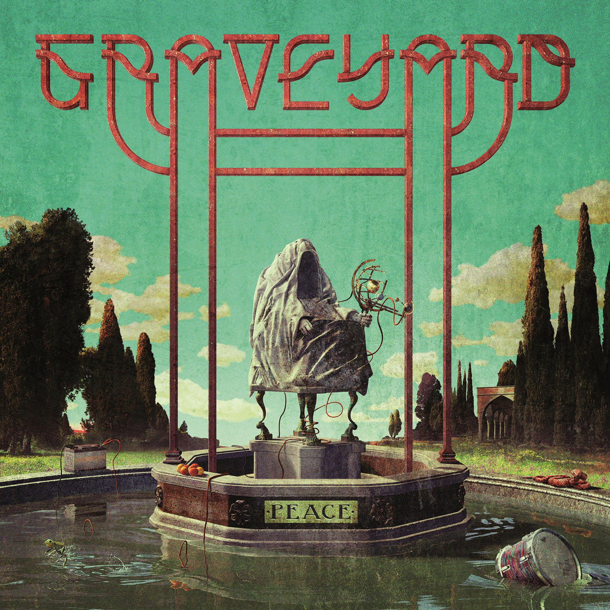 Graveyard. Peace (CD)