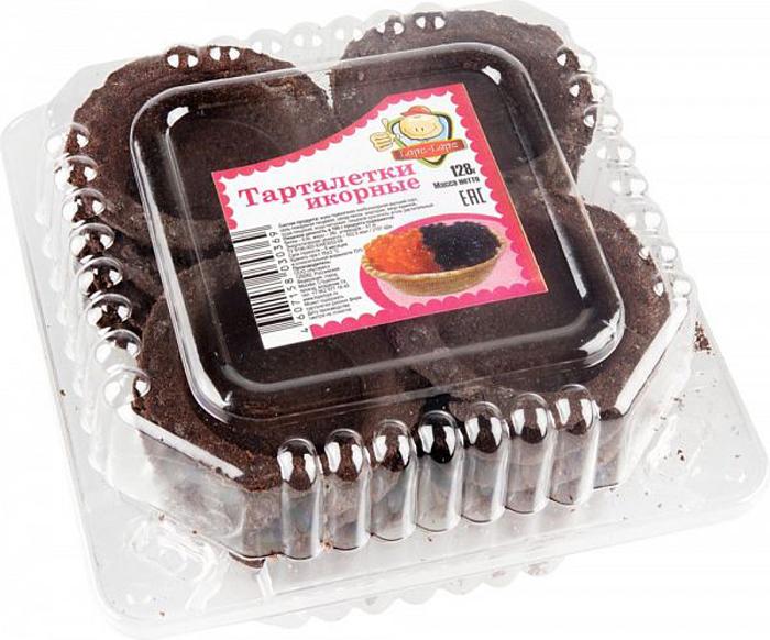 Тарталетки Lope-Lope икорные черные, 128 г праздничный атрибут diy