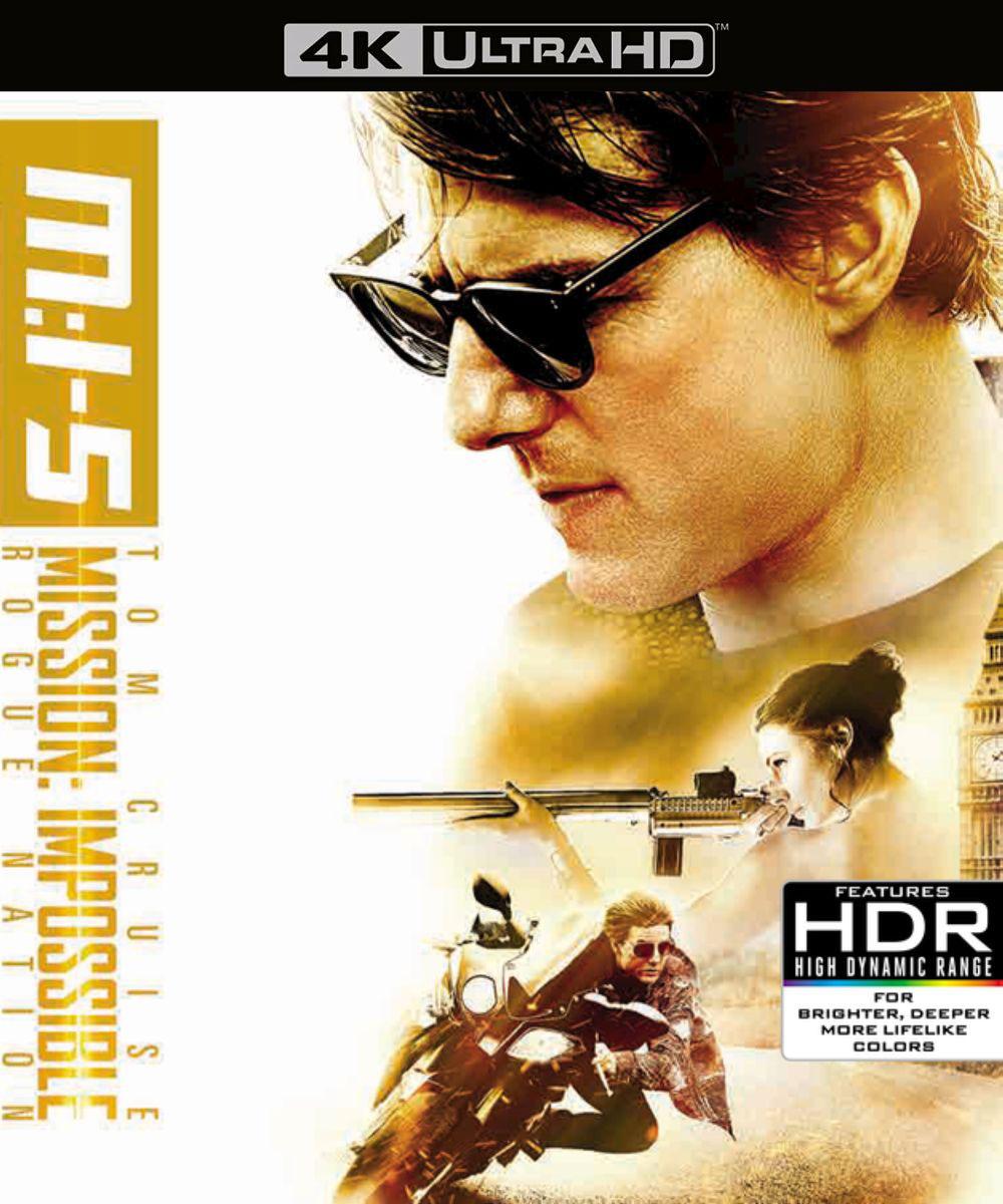 Миссия невыполнима: Племя изгоев (4K UHD Blu-ray + бонусный диск Blu-ray) звездный путь стартрек возмездие 2 blu ray