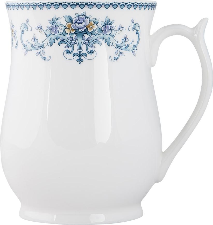 """Материал: костяной фарфор. Фарфор """"Royal Aurel"""" отличается исключительной белизной, что объясняется уникальными компонентами и традиционной технологией, по которой он был изготовлен. Белая глина из провинции Фуцзянь и традиционные рецепты китайских мастеров создают неповторимую композицию. Дизайн коллекций выполнен в соответствии с актуальными европейскими тенденциями."""