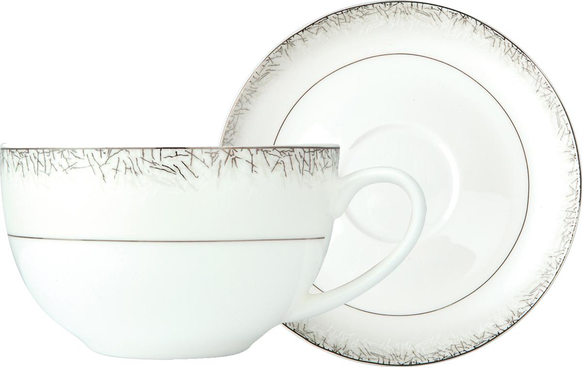 Чайная пара Royal Aurel Иней, 2 предмета чайная пара royal aurel гольф 2 предмета