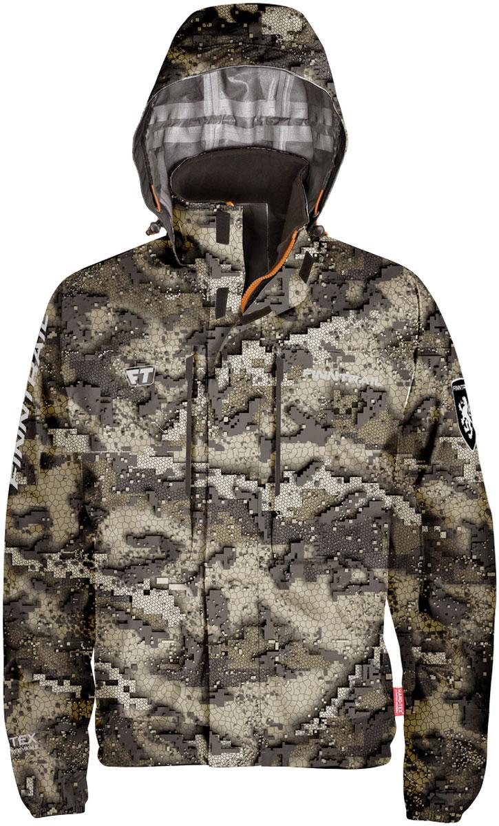 Куртка рыболовная Finntrail Shooter, цвет: зеленый камуфляж. 6430CamoBear. Размер 3XL (56/58)