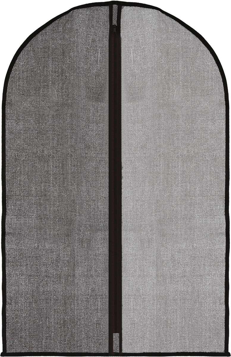 Чехол для одежды изготовленный из высококачественного нетканого материала, защитит вашу одежду от пыли и других загрязнений и поможет надолго сохранить ее безупречный вид. Благодаря особой фактуре чехол не пропускает пыль. Но в то же время позволяет воздуху свободно проникать внутрь, обеспечивая естественную вентиляцию. Материал легок и удобен, не образует складок. Застегивается на молнии. Окошко из пластика позволяет видеть, какие вещи находятся внутри.