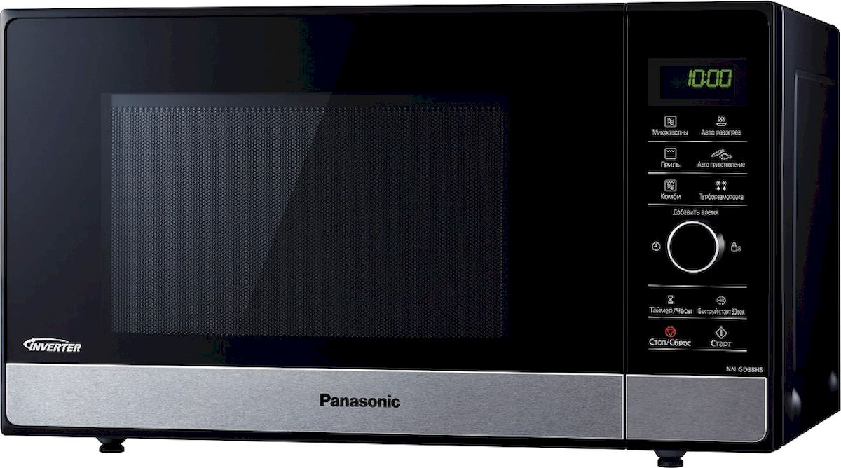 Panasonic NN-SD38HSZPE, Black микроволновая печь