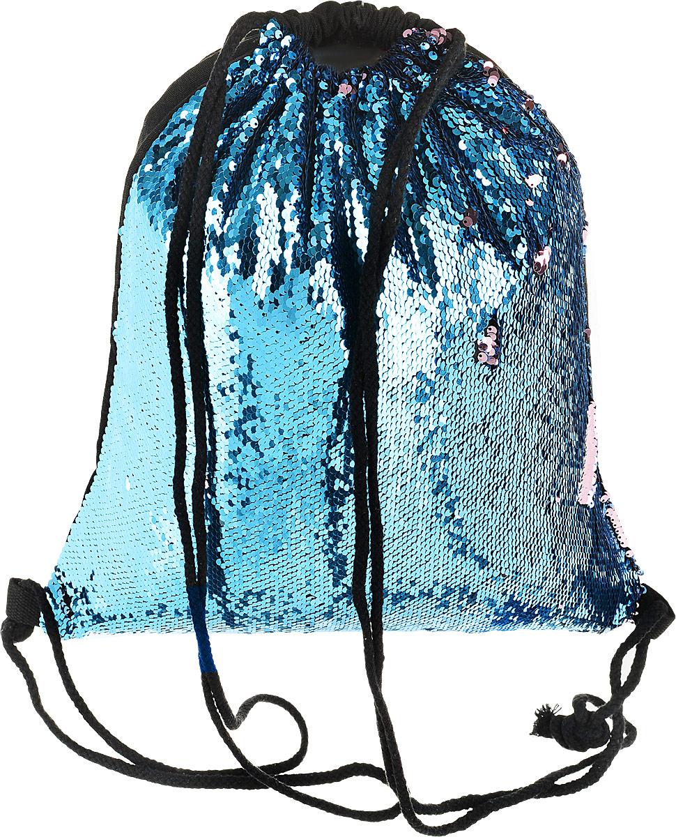 TipTop Сумка с пайетками для сменной обуви и одежды Эмма цвет голубой розовый, Nibgbo Baige Bags Co., Ltd, Ранцы и рюкзаки  - купить со скидкой