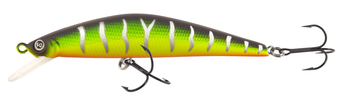Воблер LJ Eco Gutsy Minnow, плавающий, длина 9 см. LJE05090-E354 fishing floating minnow bass pike trout jointed minnow swimbait 130mm 39g