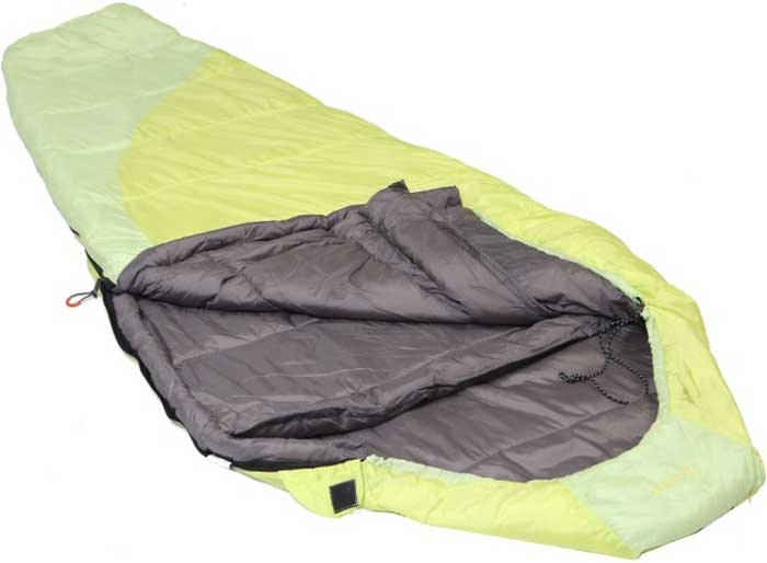 Спальный мешок-кокон Talberg Belchen -15C, левосторонняя молния, цвет: желтый спальный мешок кокон norfin scandic 350 nf l page 3