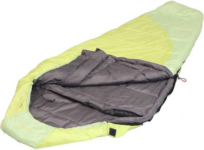 Спальный мешок-кокон Talberg Belchen -15C, правосторонняя молния, цвет: желтый спальный мешок кокон norfin scandic 350 nf l page 3