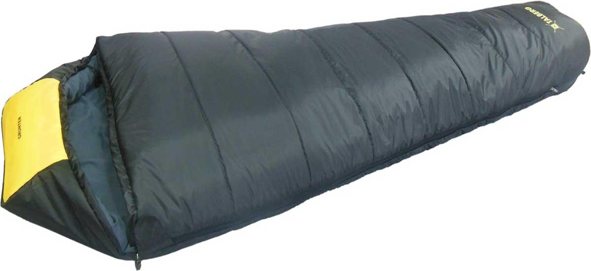 Спальный мешок-кокон Talberg Grunten Compact -27C, правосторонняя молния, цвет: темно-серый
