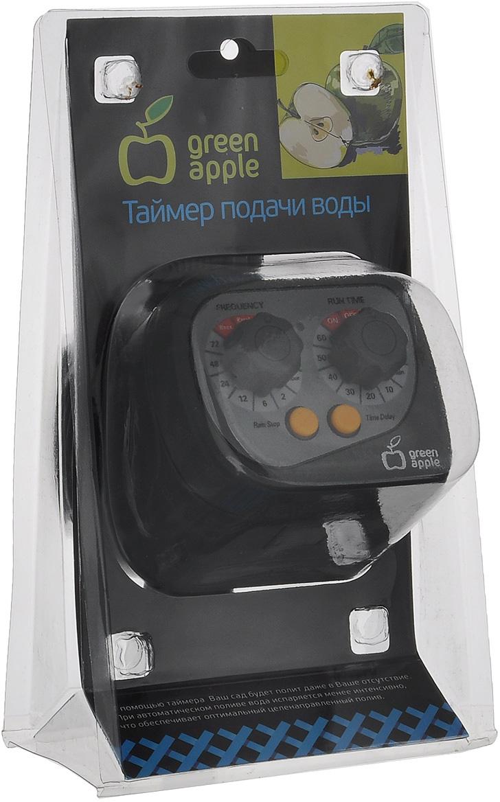 Таймер для подачи воды Green Apple, с механическим дисплеем, цвет: серый таймер для подачи воды green apple gwte5 068