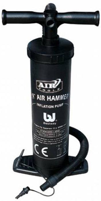 Насос ручной Bestway Air Hammer, 48 см. 62030 bestway ручной насос 37 см bestway