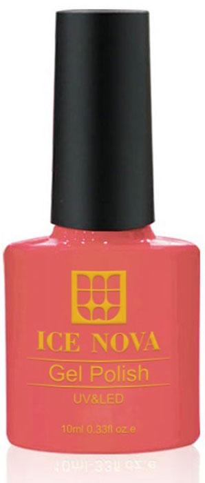 Ice Nova Гель-лак для ногтей, тон № 024, 10 мл