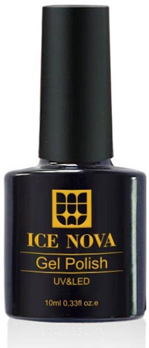 Ice Nova Гель-лак для ногтей, тон № 042, 10 мл