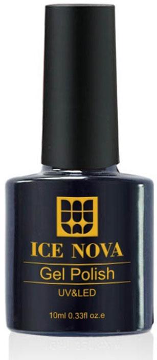 Ice Nova Гель-лак для ногтей, тон № 043, 10 мл