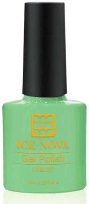 Ice Nova Гель-лак для ногтей, тон № 081, 10 мл