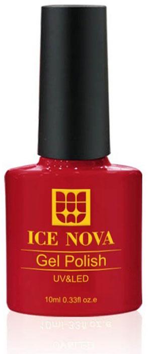Ice Nova Гель-лак для ногтей, тон № 102, 10 мл