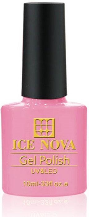 Ice Nova Гель-лак для ногтей, тон № 155, 10 мл