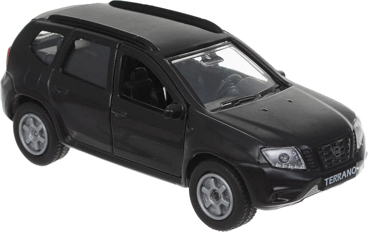 Технопарк Машина инерционная Nissan Terrano цвет черный