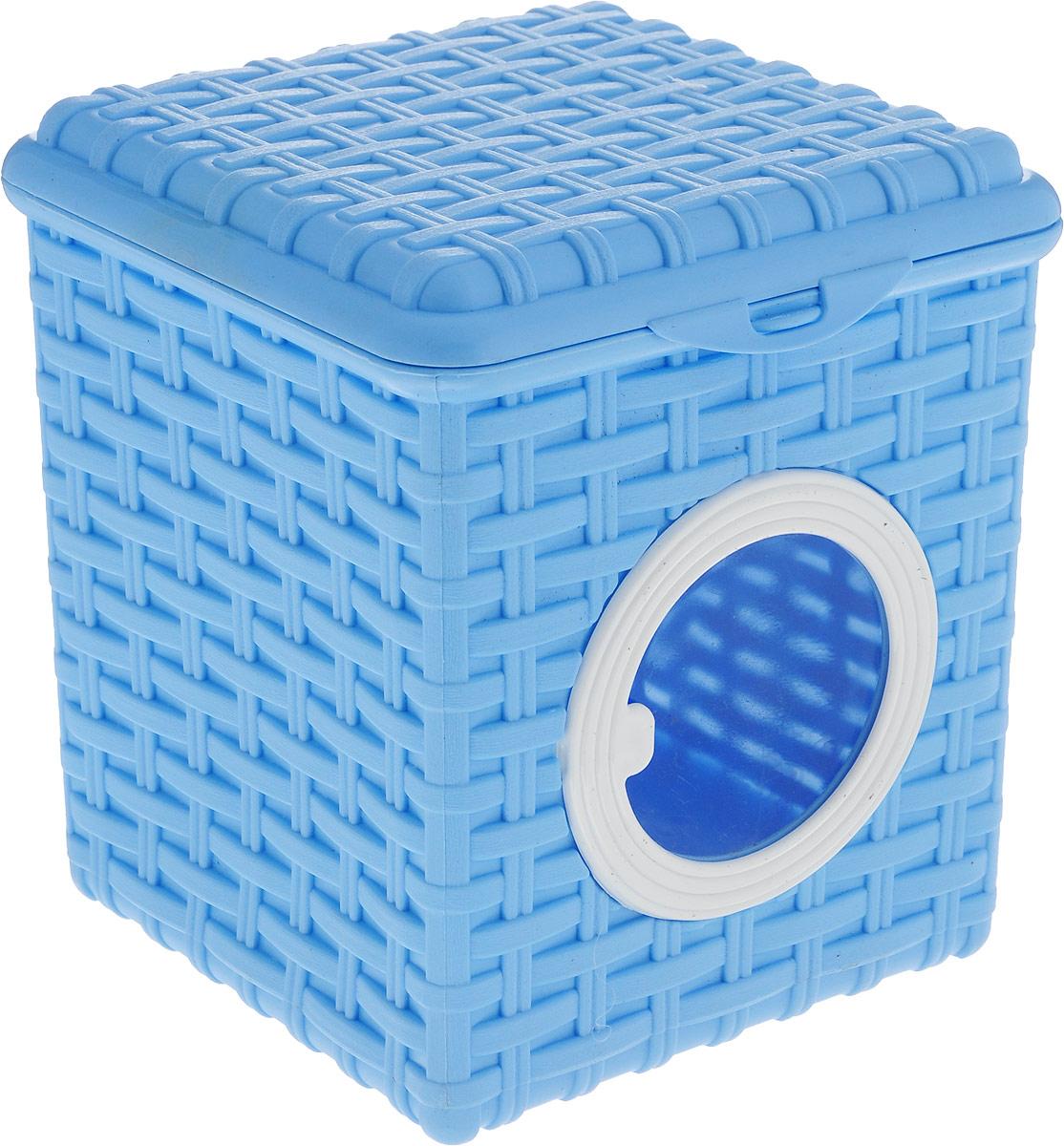 Корзина для мелочей Violet, цвет: голубой, 3 л корзина bask h441zw 3