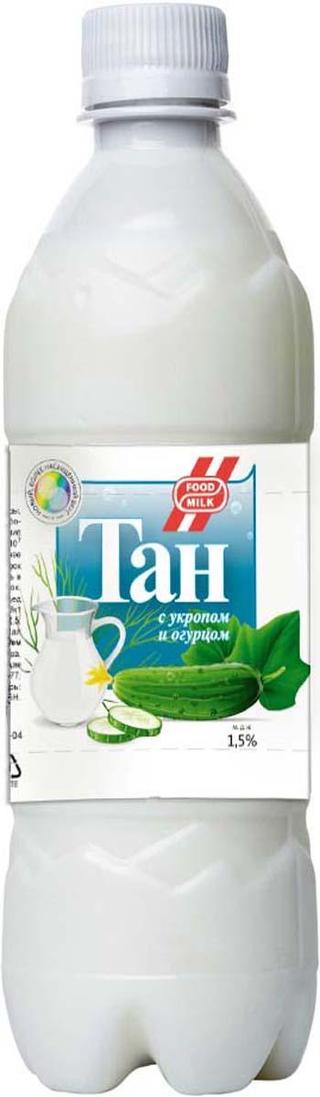 Food milk Тан с укропом и огурцом 1,5 %, 500 мл брюссельская капуста 500 г