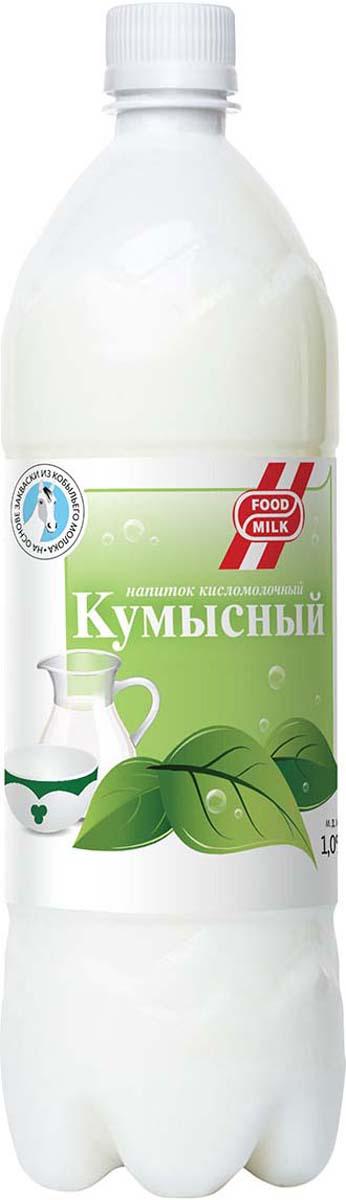 Food milk Кумысный напиток 1%, 500 мл кокосовое молоко coconut milk 400 мл