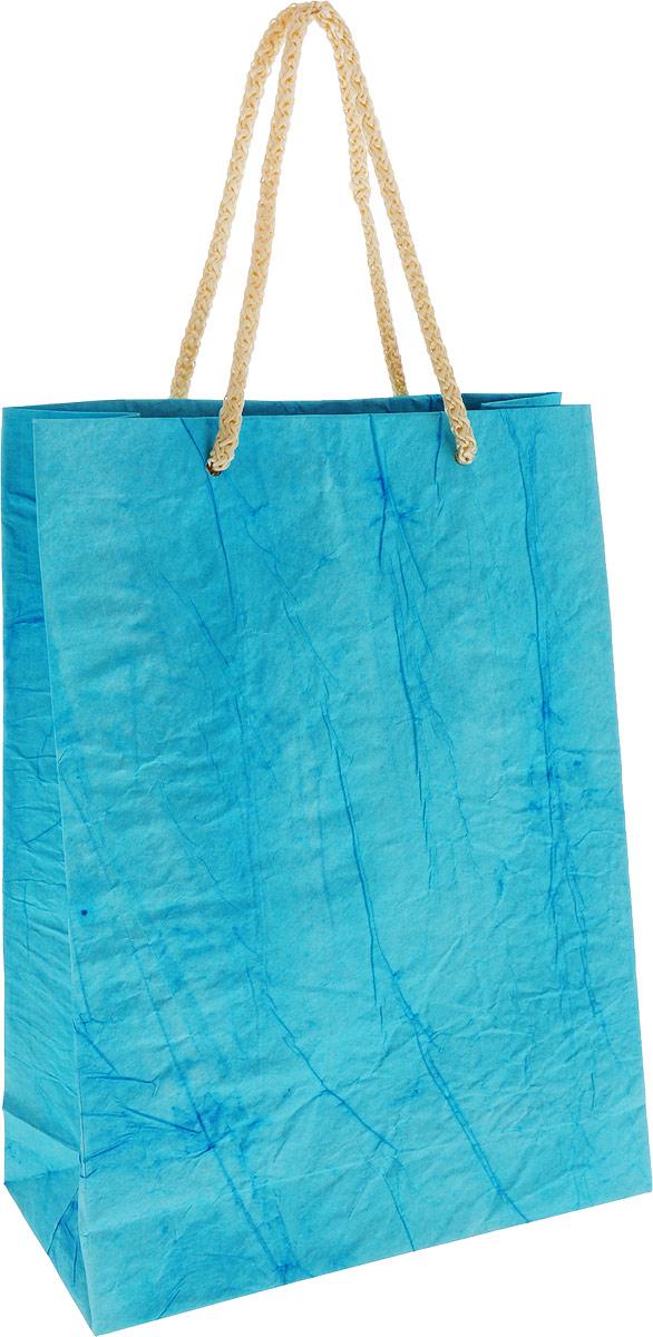 Пакет подарочный Дизайнерский, 28 х 17 х 7 см. 2728081 цвет: голубой пакет подарочный арт и дизайн вояж цвет мультиколор 36 х 26 х 11 5 см 3092217