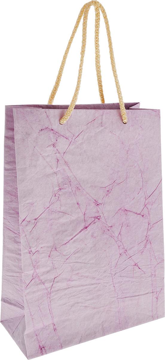 Пакет подарочный Дизайнерский, 28 х 17 х 7 см. 2728081 цвет: сиреневый ваза 17 х 13 5 х 20 см