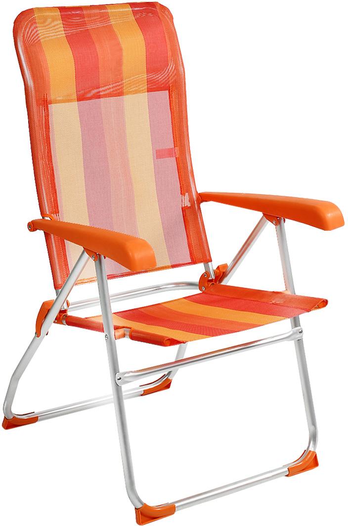Кресло складное Happy Camper, цвет: желтый, оранжевый кресло складное canadian camper cc 152 67 см х 63 см х 109 см