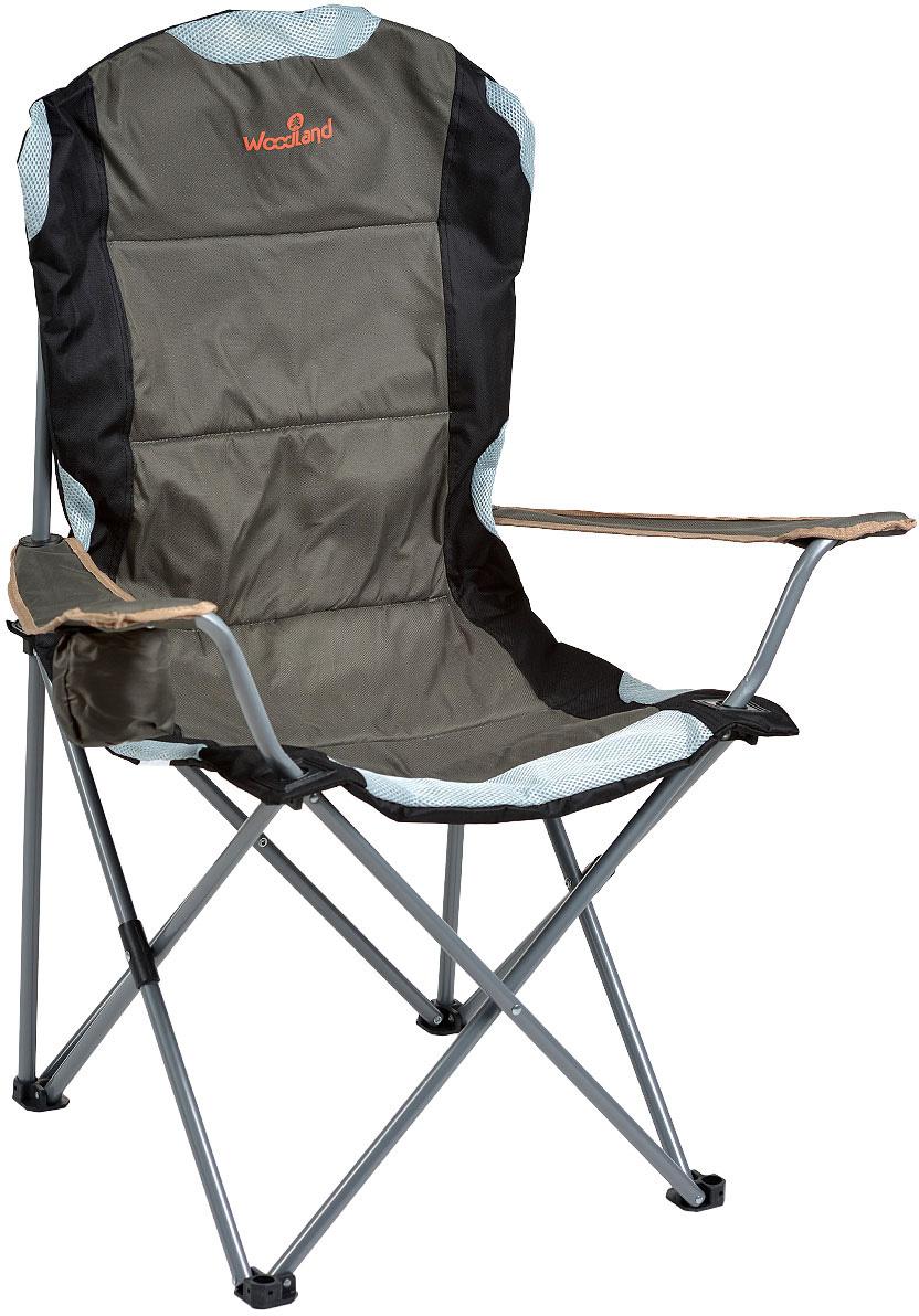 Кресло складное Woodland Deluxe, 63 см x 63 см x 110 см