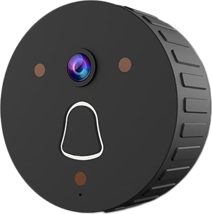 IVUE Clever Dog-Doorbell-2, Black камера видеонаблюдения ip камера ivue clever dog dog 3g72 black