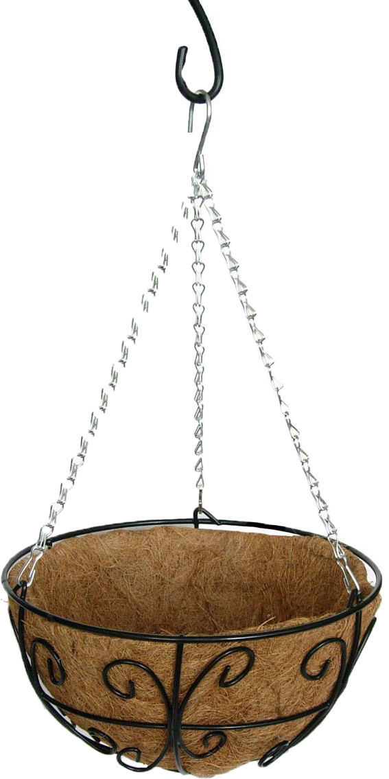 Кашпо Грин Бэлт Узор-1, сфера, подвесное, диаметр 30 см green garden кашпо teak s